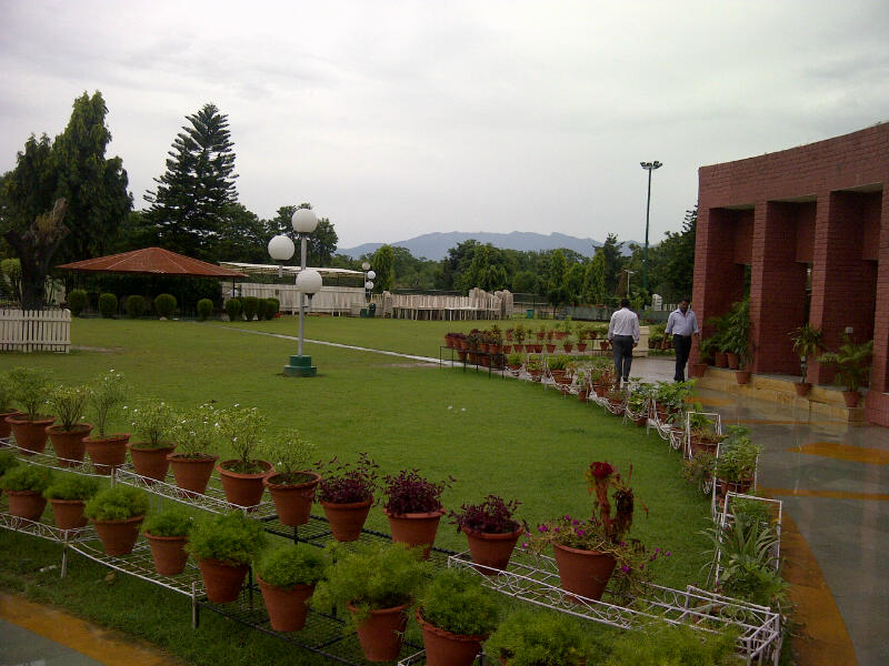Chandigarh Club--Shivalik Hills View