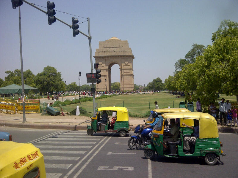 India Gate--World War I Memorial Great Picnic Spot