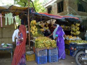 Market scene Neemrana