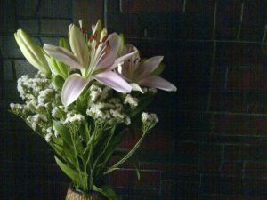 lilies for mom